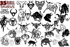 Zodiac Tattoo Designs | Taurus Zodiac Tattoo Design Ideas - Zodiac Tattoos Designs - Zimbio
