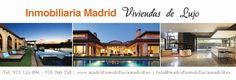 viviendas de lujo en Madrid, casas en venta y alquiler de alto standing, selección de los mejores pisos y chalets en las mejores zonas residenciales y barrios más emblemáticos de la capital