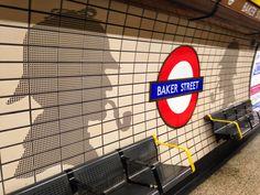 Baker Street station - London Underground Mis Viajes - Inglaterra, Francia, Bélgica & Holanda | The Beautiful Life