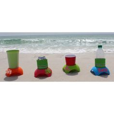 Beach Drink Holder w/ Monogram ($15.95)
