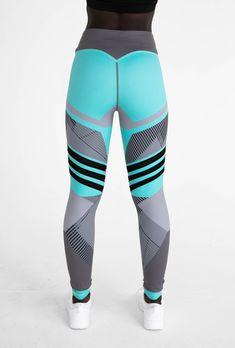 F17 Leggings - Tiffany Blue