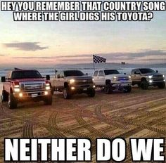 i know theres a chevy ford rivalry but hey at least they are both american
