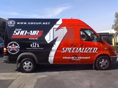 Full van wraps are great advertising for your business.