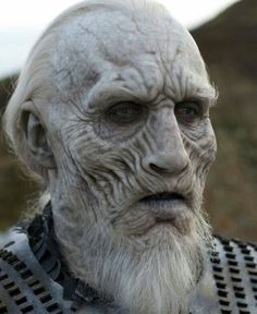 #sculpture • Instagram写真と動画 Beard Makeup, Makeup Fx, Makeup Inspo, White Walker Makeup, Got White Walkers, Zombie Face Paint, Human Sculpture, Sculptures, Prosthetic Makeup