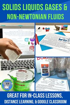 Discover the properties of matter by learning about Non-Newtonian Fluids. This is a full, easy prep lesson plan that includes a reading passage with anchor charts, summary strategies, and assessment questions. Use the included oobleck recipe for more fun! Kids will be engaged while learning science vocabulary. Science Vocabulary, Science Resources, Food Science, Science Activities, Science Experiments, Reading Passages, Reading Comprehension, Oobleck Recipe, Non Newtonian Fluid