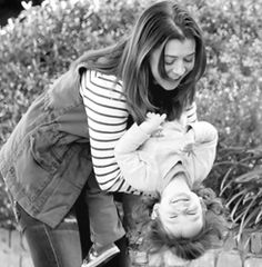 Alyson Hannigan and her daughter