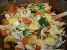 Z FaMiLy ReCiPe bLoG: Chicken Vegetable Stir Fry over brown rice