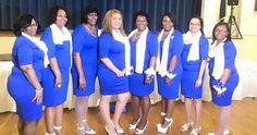 Zeta Phi Beta Sorority, Incorporated-Alpha Alpha Beta Zeta Chapter, DeRidder, Louisiana celebrated their Inaugural Finer Womanhood Program today, March 14, 2015