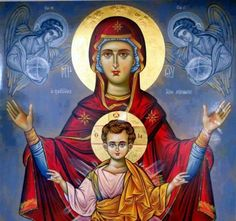 The humble soul is blessed. The Lord loves her. The Mother of God is higher than all in humility, and therefore all races bless her on earth, while the heavenly powers serve her. And the Lord has given us this blessed Mother of His as a defender and helper. (St. Silouan the Athonite, Writings III.14)
