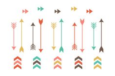 Check out Tribal Arrow Clip Art by Sweet Shop Design on Creative Market