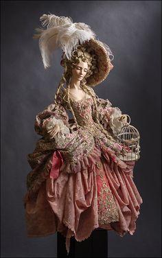 Авторская кукла на выставке в Москве Гостиный Двор Искусство Куклы