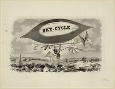 Sky-​Cycle (1892) :: Library Of Congress