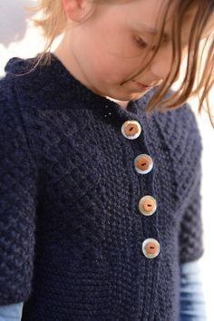 Jente Jakke, buttons