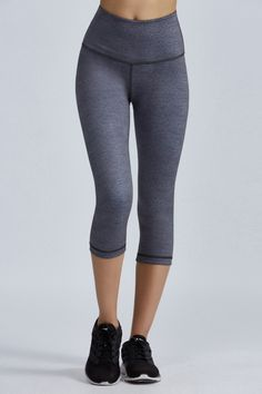 High Waist Reversible Capri by Bandier