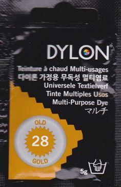 Teinture multi-usages Dylon Old Gold N°28 (=capsule)
