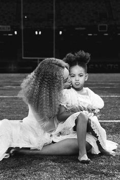 Blue Ivy and Mom Beyonce