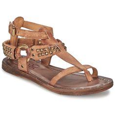Airstep / A.S.98 RAME Sable - Livraison Gratuite avec Spartoo.com ! - Chaussures Sandale Femme 169,00 €