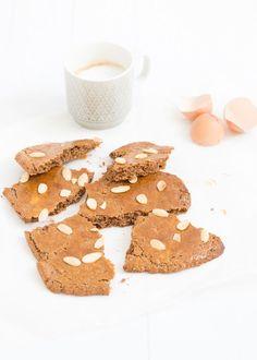 Lekker recept voor speculaasbrokken zonder geraffineerde suikers.