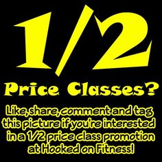 What do you think?  How about if we offer $5 classes for the entire month of October?   Would that make you want to strap up for #TRX? Would that make you come dance with us for #Zumba? Would that help turn you into an #UrbanKickAss kind of person? Would that make you a #ShredHead with #Bodyshred?If you currently have a class card we have a plan for you as well! #HookedOnFitness #HalfPrice Another shot from #HookedOnFitness