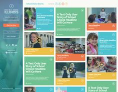 School Choice by Shane Helm. I like positioning the header in a sidebar instead of at the top of the page on larger displays.