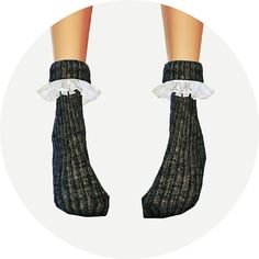 LKovely frill socks (ankle) at Marigold via Sims 4 Updates