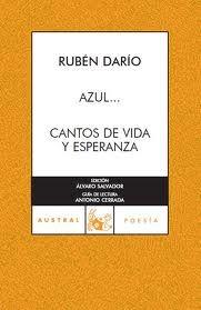 Azu y Cantos de vida y esperanza de Rubén Darío