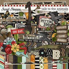 Sweet Shoppe Designs::Value Bundles::Talk To The Animals Bundle by Libby Pritchett