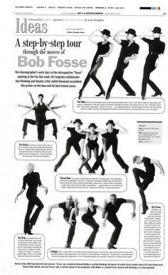 Bob Fosse was one of the most iconic Broadway choreographers of all time He helped show that dance ability is extremely important in a musical theater career While dance.