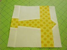 Paper-pieced plane block