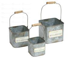 buckets Garden Spaces, Magazine Rack, Buckets, Trends, Inspiration, Spring, Summer, Home Decor, House