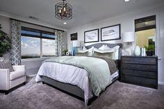 Master Bedroom at Daybreak Plan 2 | Pardee Homes Inland Empire