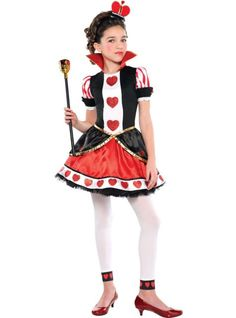 Girls Queen of Hearts Costume , Party City