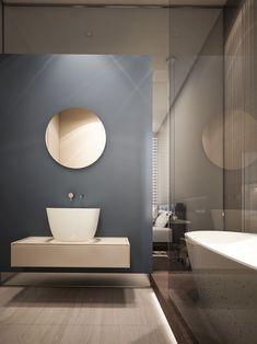 Baños minimalista/ Decoracion baño: Baño minimalista. #decoracionbaño…