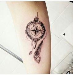 rosa dos ventos tattoo - Pesquisa Google                                                                                                                                                      Mais