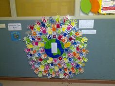 """Mem Fox """"Whoever You Are"""" inspired display"""