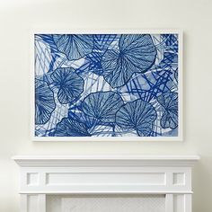 Flower Assemblage Print | Crate and Barrel