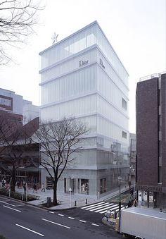 W&V Blog: Christian Dior Building Omotesando Tokyo, Japan