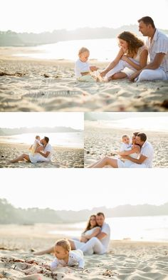 Family Portrait Poses, Family Picture Poses, Family Portrait Photography, Beach Portraits, Family Photo Sessions, Family Photos With Baby, Summer Family Photos, Shooting Photo Famille, Beach Baby Photography