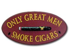 Great Men and cigars