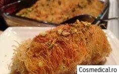 Cataif -Reteta Cataif Cabbage, Spaghetti, Vegetables, Ethnic Recipes, Food, Veggies, Essen, Cabbages, Veggie Food
