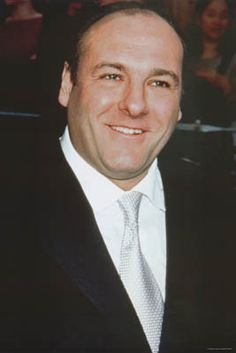 A great portrait poster of James Gandolfini - an exceptional actor who should be…