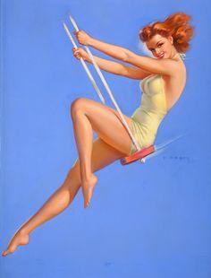 swingin' pinup