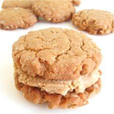 Peanut Butter-Oatmeal Sandwich Cookies: King Arthur Flour
