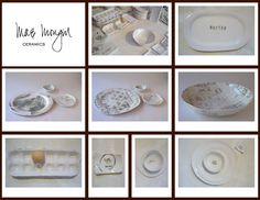 custom pottery from mae mougin..would be so lovely to have...