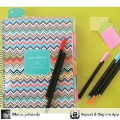 O Daily Planner é colorido e alegre como a vida deve ser... Compre • receba em casa www.paperview.com.br #meudailyplanner #planner2016 #colors #paperview_papelaria