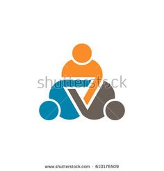 Discover this and millions of other royalty-free stock photos, illustrations, and vectors in the Shutterstock collection. Thousands of new, high-quality images added every day. Teamwork Logo, People Logo, People Icon, Conference Logo, Three Logo, Logo Clipart, Education Logo, Round Logo, Health Logo