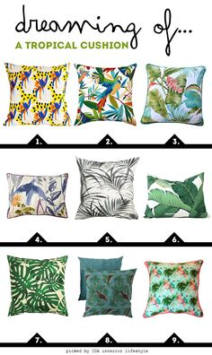 IDA interior lifestyle: Dreaming of... a tropical cushion