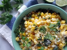 Mexican Cotija Corn by outonyourcakepants #Corn #Mexican #Cotijad
