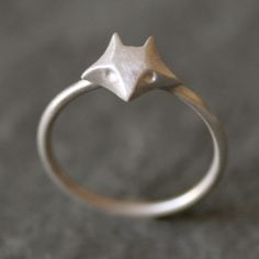 Fox ring by michellechangjewelry