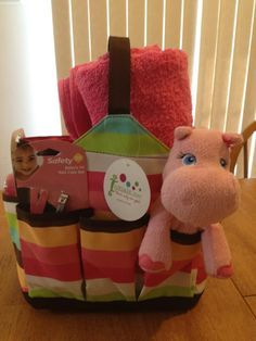 """Perfect baby shower gift with the """"Get A Grip"""" #babyshower #gifts #initialsinc  www.myinitials-inc.com/22919/"""
